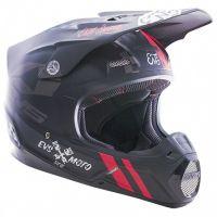 EVS - T5 Fury шлем, черный матовый