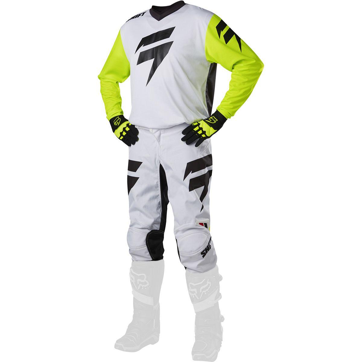 Shift - 2017 WHIT3 Ninety Seven комплект штаны и джерси, белые
