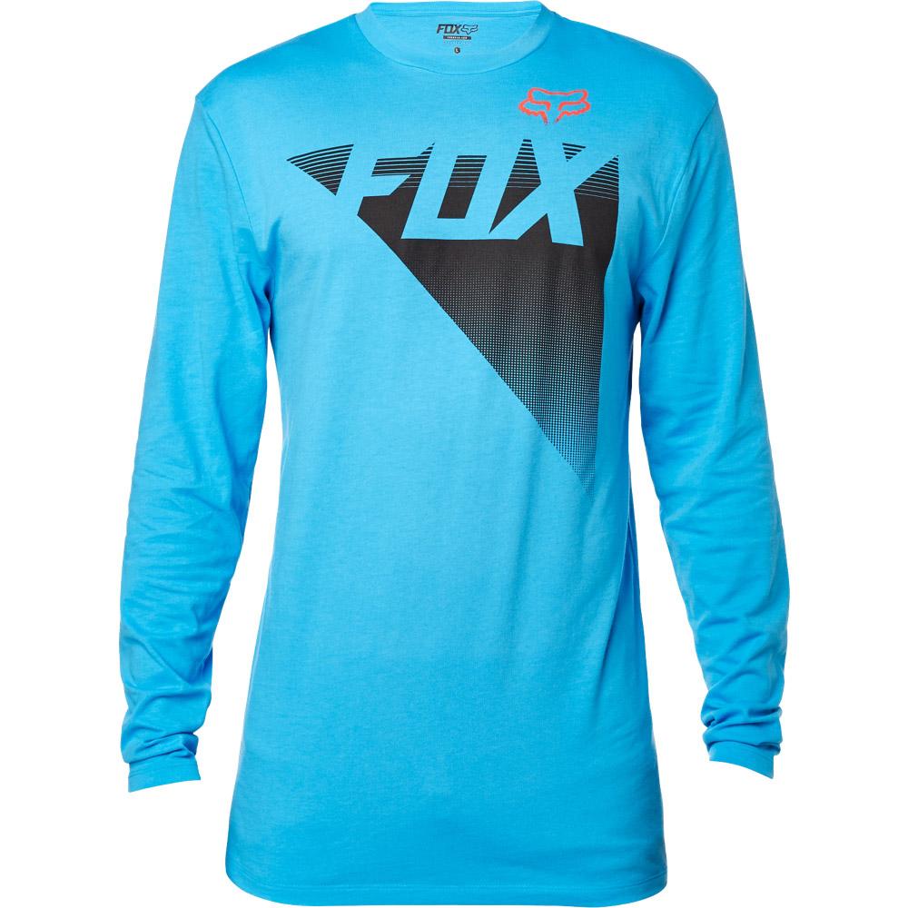 Fox - Destro LS Tee футболка, синяя