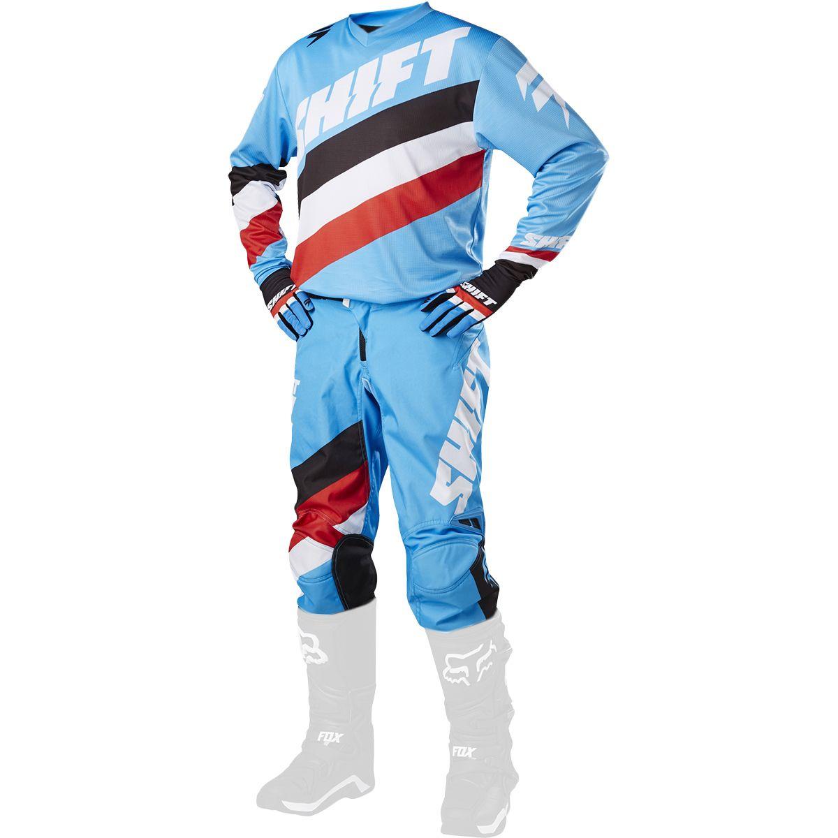 Shift - 2017 WHIT3 Tarmac комплект штаны и джерси, синие