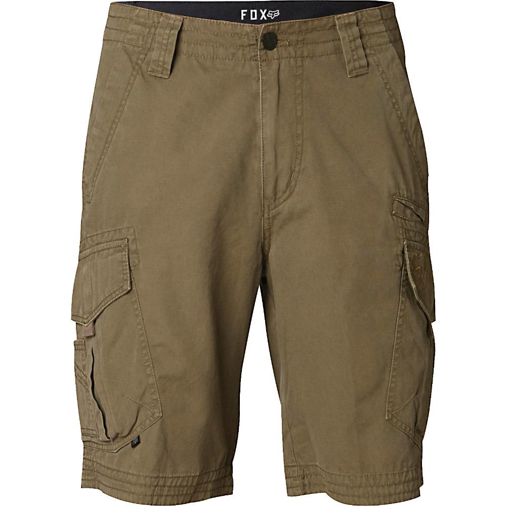 Fox - Slambozo Cargo Solid Short Military шорты, зеленые