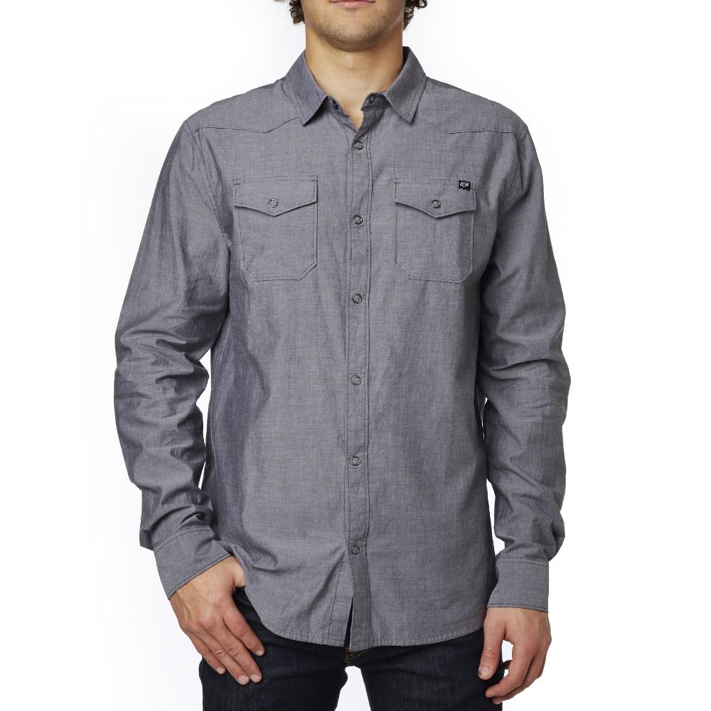Fox - Trish LS Woven Vintage рубашка, черная