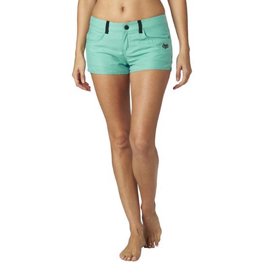 Fox - Vault Tech Short Sea Foam 4 шорты женские, зеленые