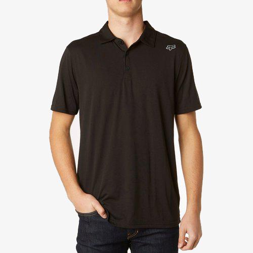 Fox - SMU Shop рубашка-поло, черная