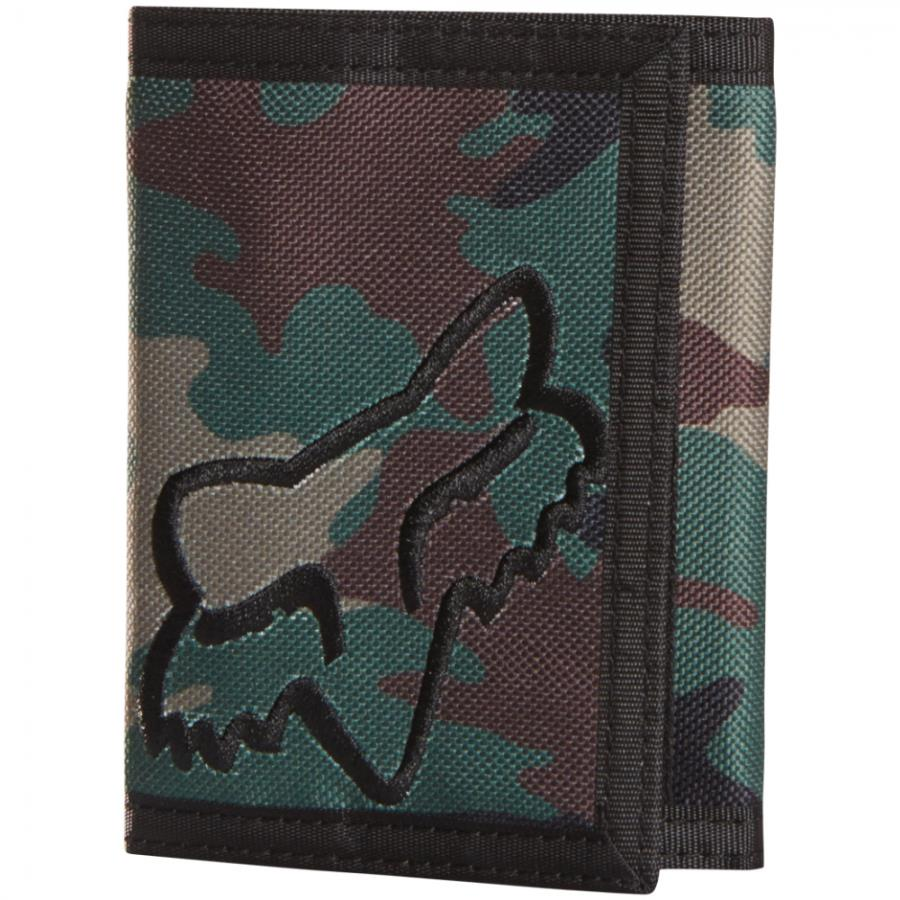 Fox - 2017 Mr Clean Velcro Wallet Camo кошелек, зеленый